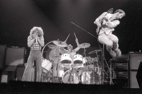 The Who in Edmonton 1976