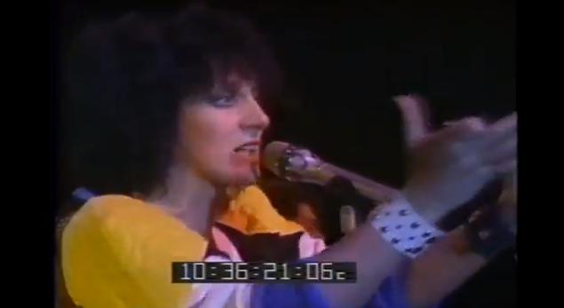 Carole Pope & Rough Trade – 1984 Music Express Awards