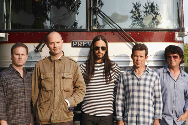 Tragically Hip Go Cross-Country This Winter