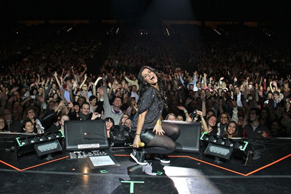 Nelly Furtado in Toronto