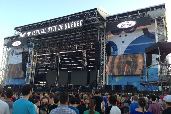 Festival d'ete de Quebec 2013
