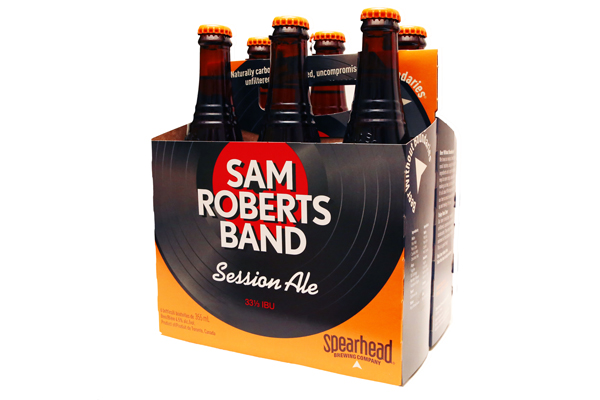 Sam Roberts Band Session Ale Now Available at the LCBO Inbox x