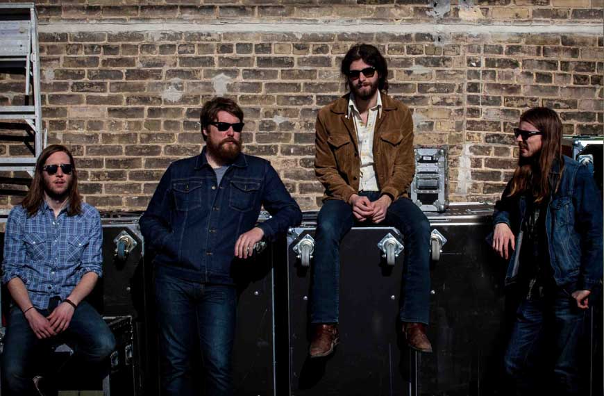 The SiriusXM JUNO KickOff to open JUNO Weekend with The Sheepdogs