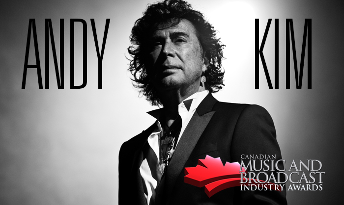 Andy Kim Announced as 2016 Inductee to Canadian Music Industry Hall of Fame