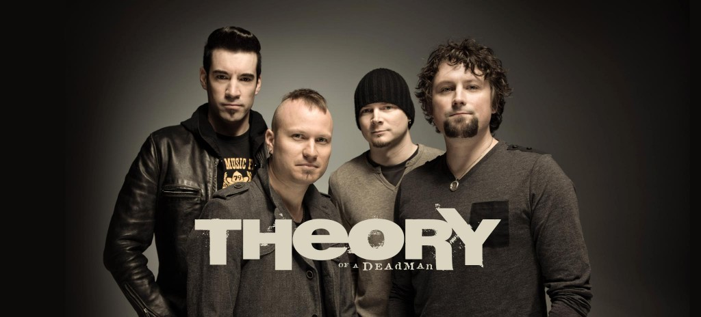 """Rock Giants Theory Of A Deadman Announce """"Unplugged 15"""" Canadian Tour In Celebration Of Fifteen Years Together As A Band"""