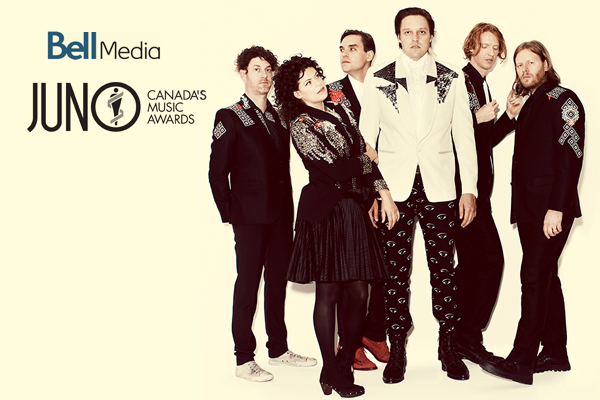 ARCADE FIRE TO BE HONOURED WITH ALLAN WATERS HUMANITARIAN AWARD