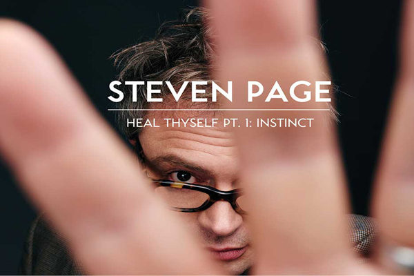 Steven Page's New Record; A Self-Healing Prophecy.