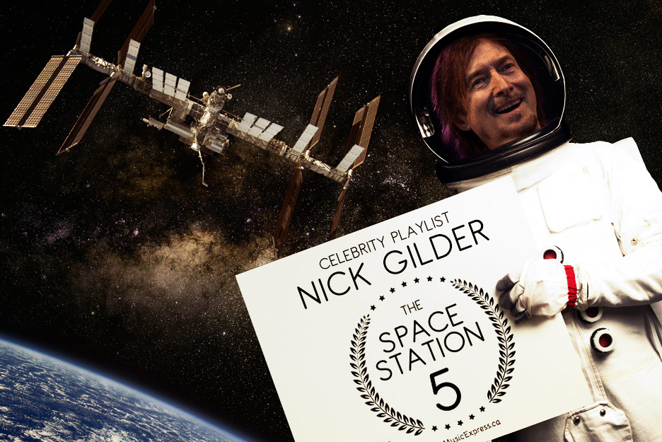 Space Station 5 – Celebrity Playlist: NICK GILDER