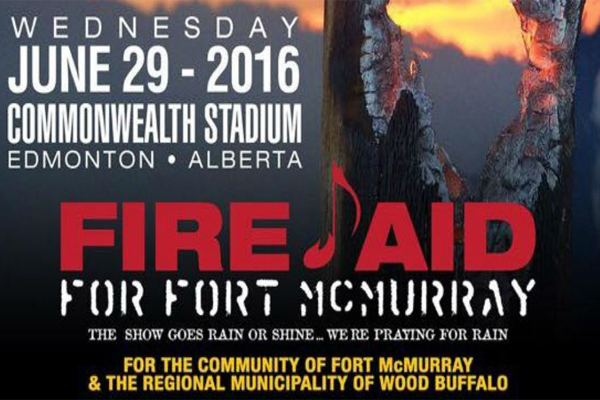 Fire Aid Raises Two Million Dollars for Fort MacMurray Relief