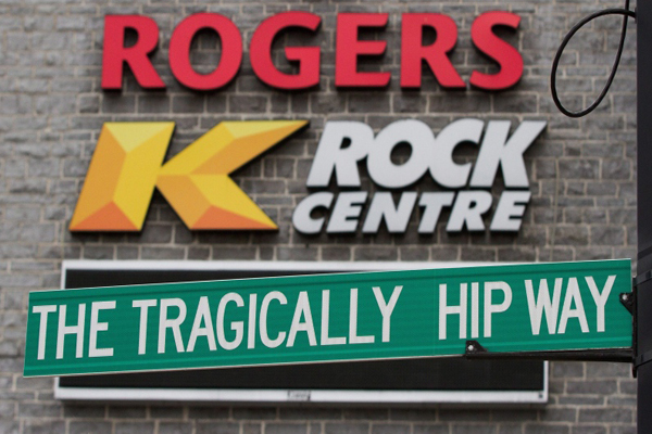 CBC in talks with The Tragically Hip To Televise Final Concert