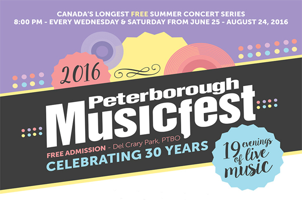 Peterborough MusicFest Celebrates 30 Years Of Free Music
