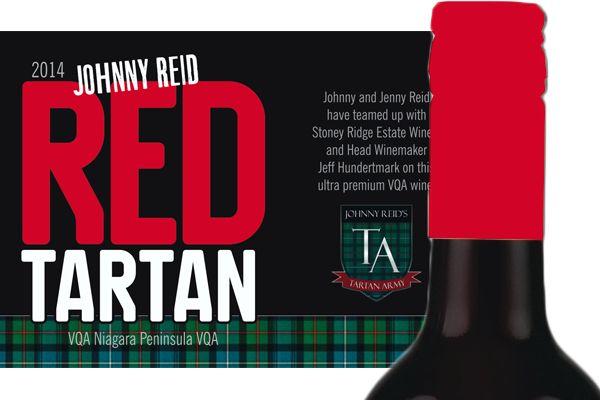 Now Available Johnny's Red Tartan Plonk!
