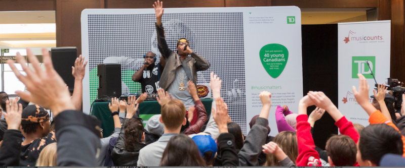 KARDINAL OFFISHALL CELEBRATE 2016 TD MUSIC COMMUNITY PROGRAM RECIPIENTS AT UNION STATION