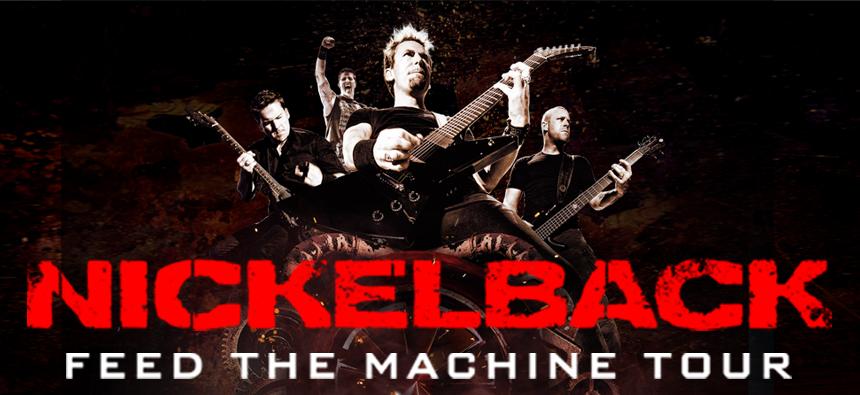 Nickelback Set To Feed The Machine