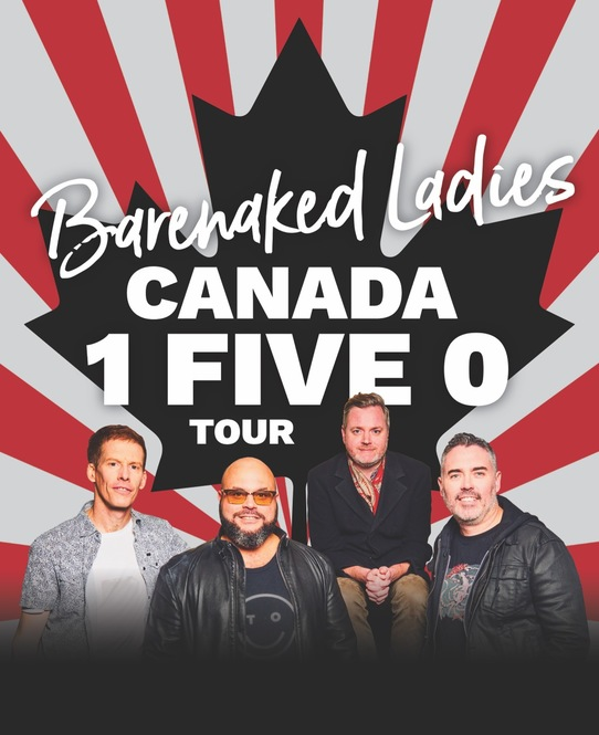 BARENAKED LADIES announce CANADA-WIDE FALL TOUR