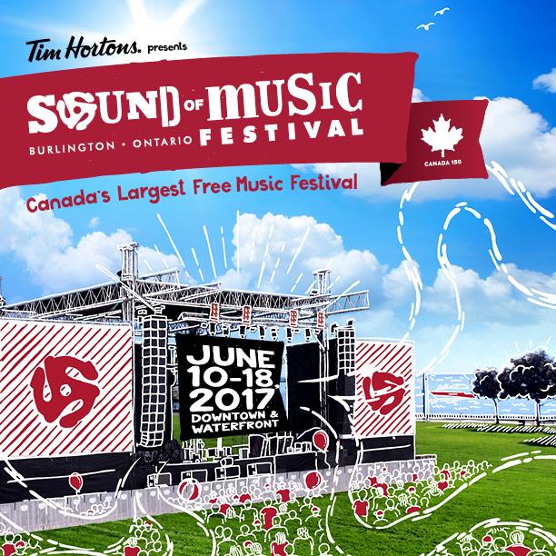 Burlington Sound of Music Festival announces its Free Festival Line Up