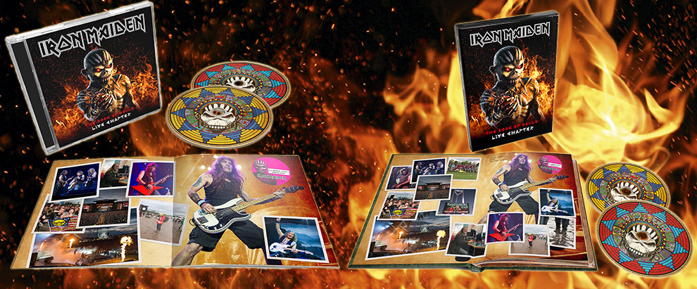 IRON MAIDEN ANNOUNCE THE BOOK OF SOULS: LIVE CHAPTER
