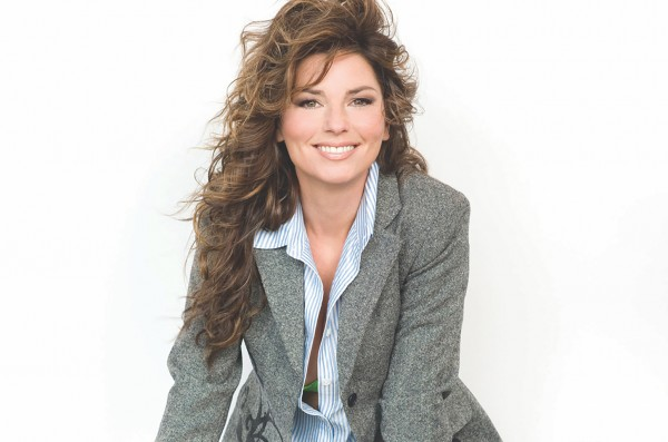 Top Female Vocalist - Shania Twain for Music Express readers top choice