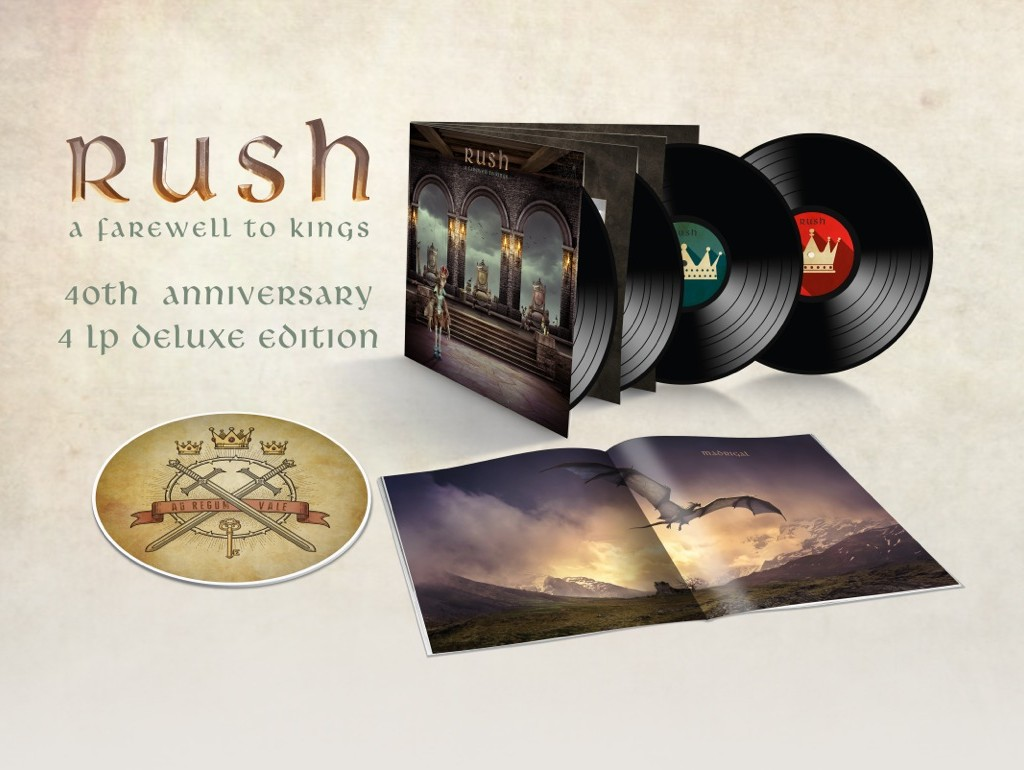 ANTHEM / OLE LABEL GROUP INVITES YOU TO SAY HELLO AGAIN TO RUSH'S A FAREWELL TO KINGS