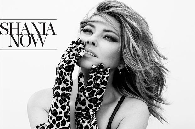 SHANIA TWAIN  NOW  (Universal Music Canada)