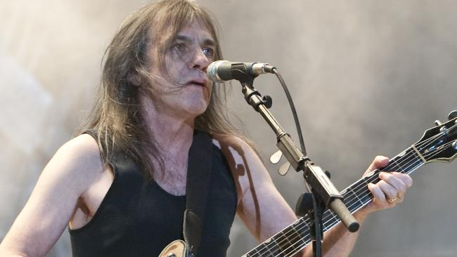Malcolm Young's Death A Wrap For AC/DC