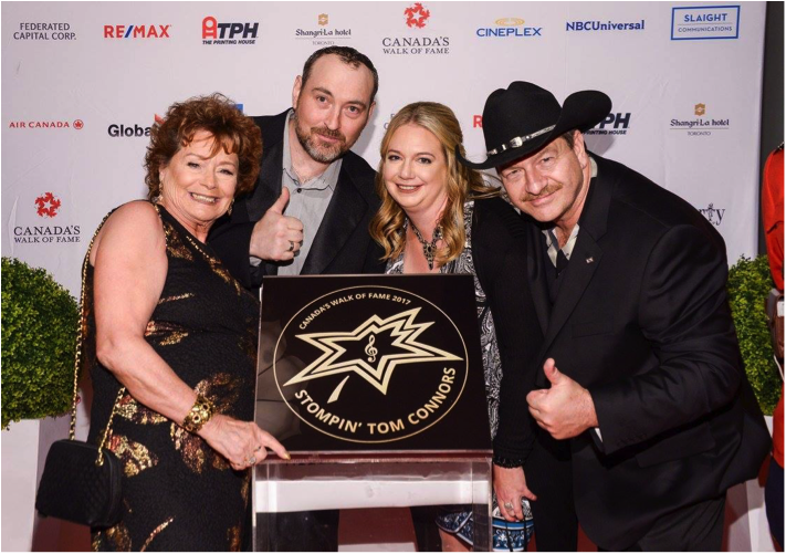 ole label group Celebrates Canadian Musical Icon Stompin' Tom Connors' Induction Into Canada's Walk Of Fame
