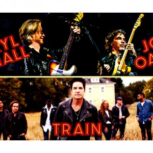 DARYL HALL & JOHN OATES AND TRAIN JOIN FORCES FOR CO-HEADLINE SUMMER 2018 TOUR