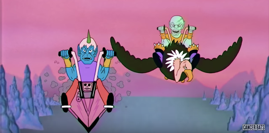 """CANCER BATS RELEASE ANIMATED VIDEO FOR """"GATEKEEPER"""""""