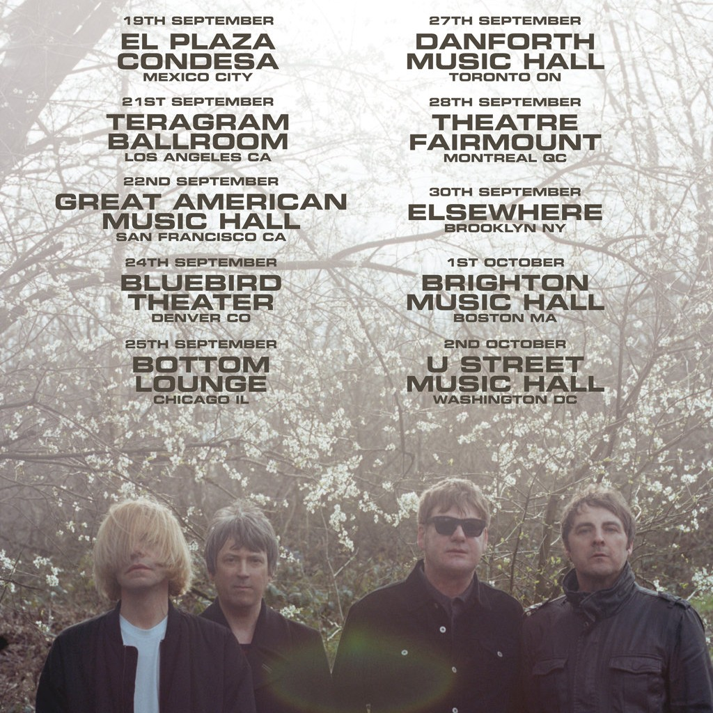 The Charlatans UK reveal tour dates for the fall in Mexico, the United States and Canada