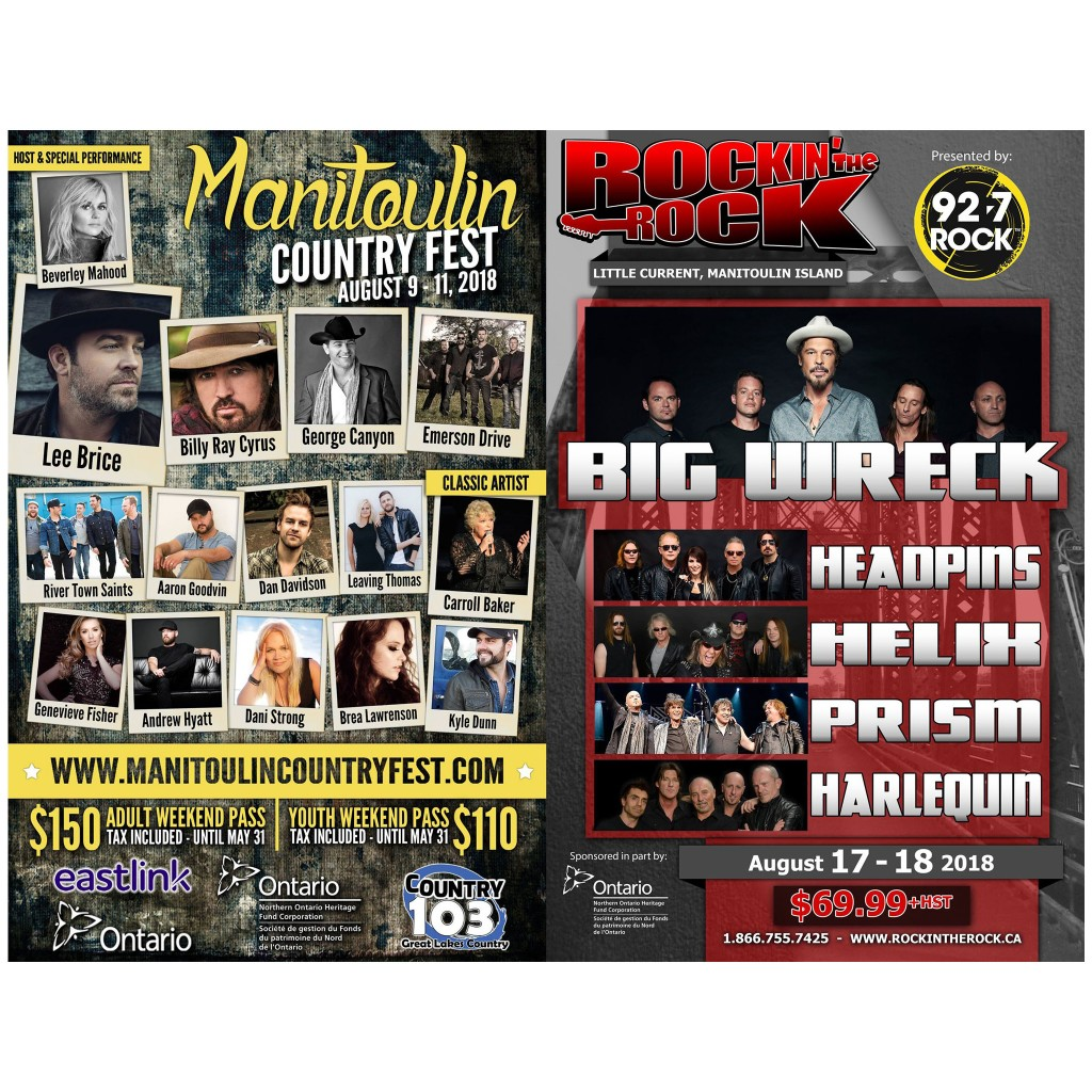 Staging Manitoulin Country Fest A Logistical Challenge