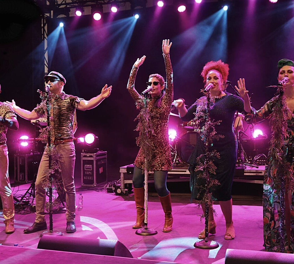 THE PEPTIDES BRING THE PERFECT FINISHING TOUCH TO BLUESFEST