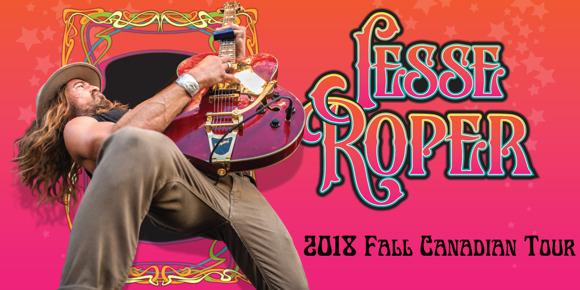 Blues Rocker Jesse Roper Announces Access To Infinity Tour