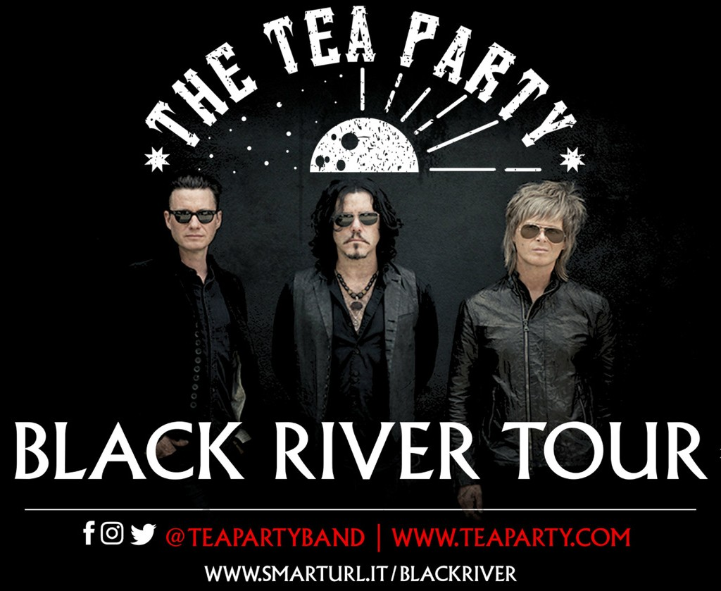 Multi-Platinum Rock Band The Tea Party Announce The Black River Tour