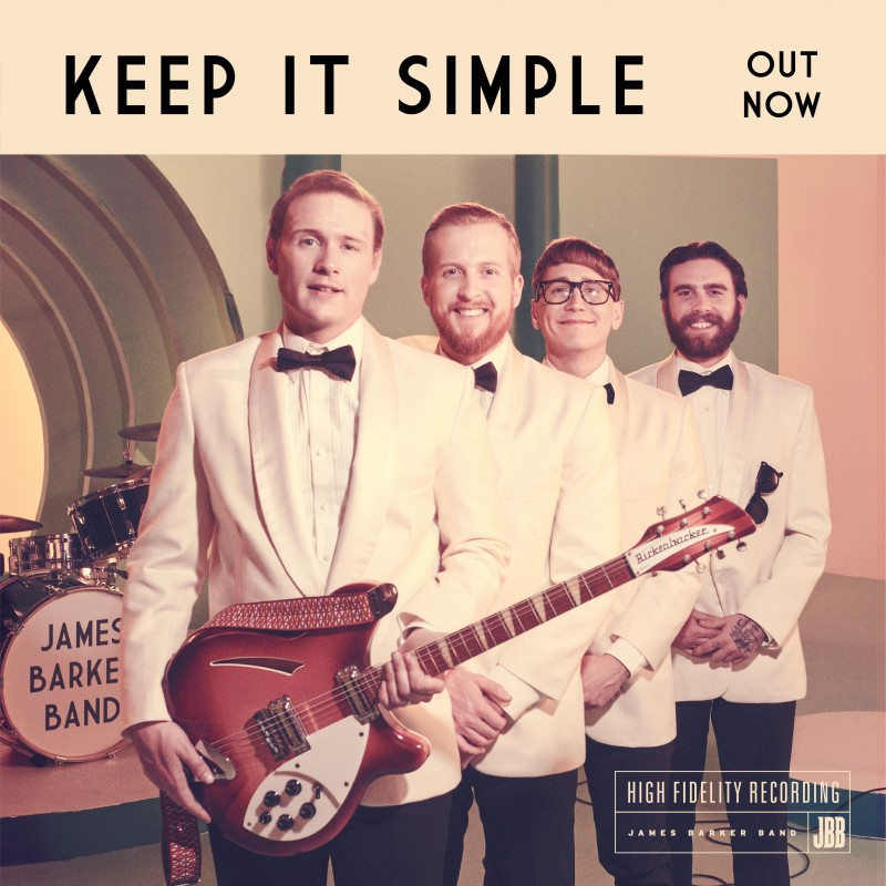 "James Barker Band Return with their New Single ""Keep It Simple"""