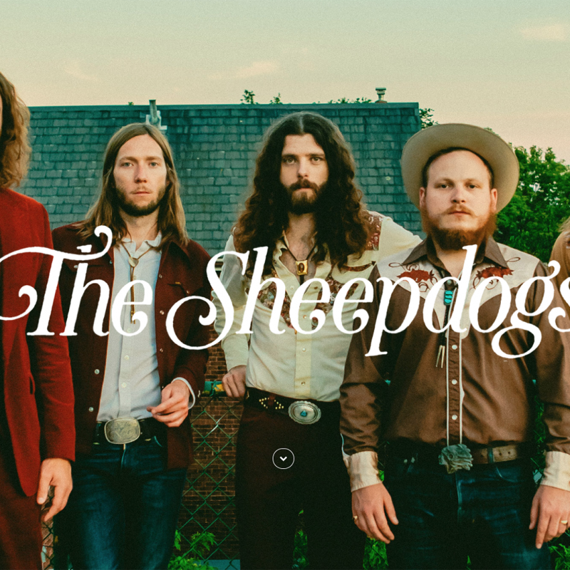 The Sheepdogs Announce Movember Partnership