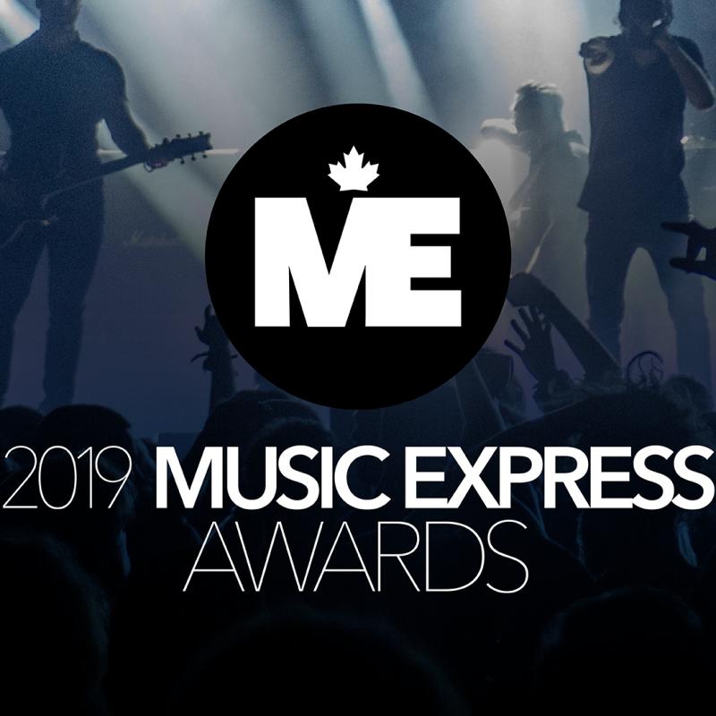 2019 Music Express Awards Nominees