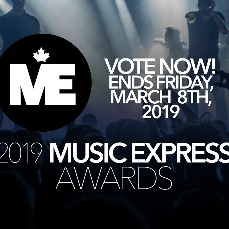 Polls are closed! The Music Express Awards