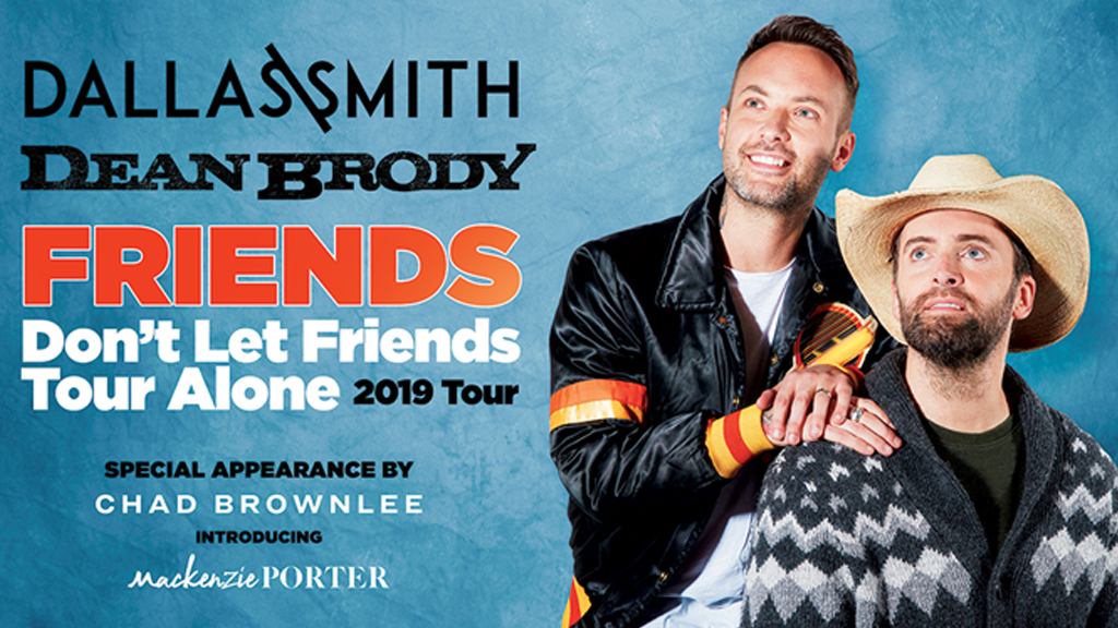 Dean Brody & Dallas Smith – Band Together For Epic Fall Cross-Country Tour