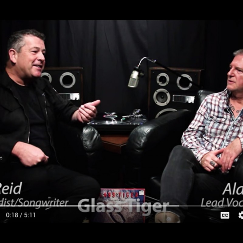 Behind the Vinyl: Diamond Sun with Glass Tiger