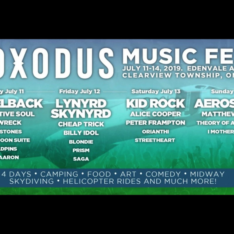 Roxodus Music Fest Single Day Tickets On Sale Now