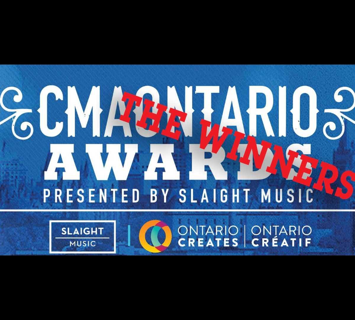 The Winners of the Country Music Association of Ontario Announced