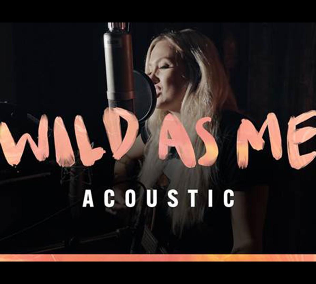 "Meghan Patrick Releases Acoustic ""Wild As Me"" Video"