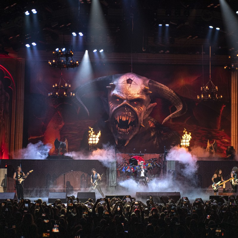Iron Maiden's Concerts Are A Religious Experience