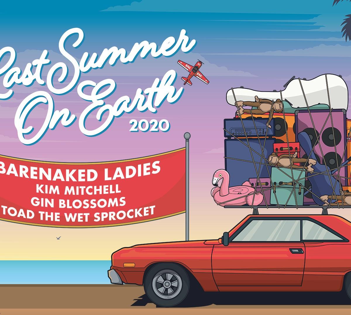 Barenaked Ladies Announce Last Summer On Earth 2020 – Headline Budweiser Stage Toronto July 23