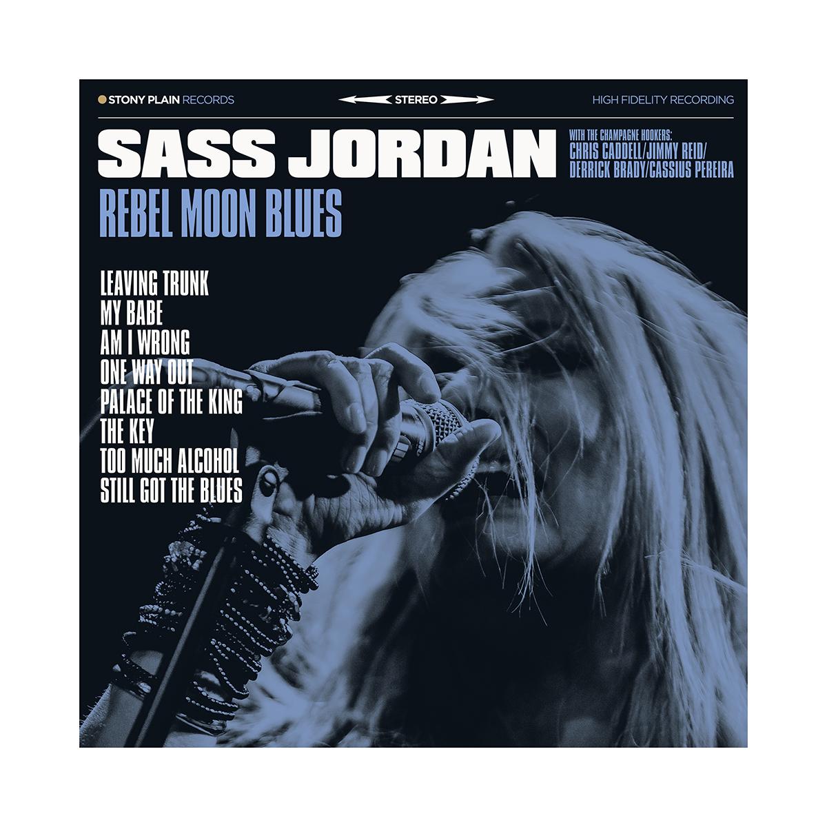 Sass Jordan Rocks The Blues On New Album Rebel Moon Blues