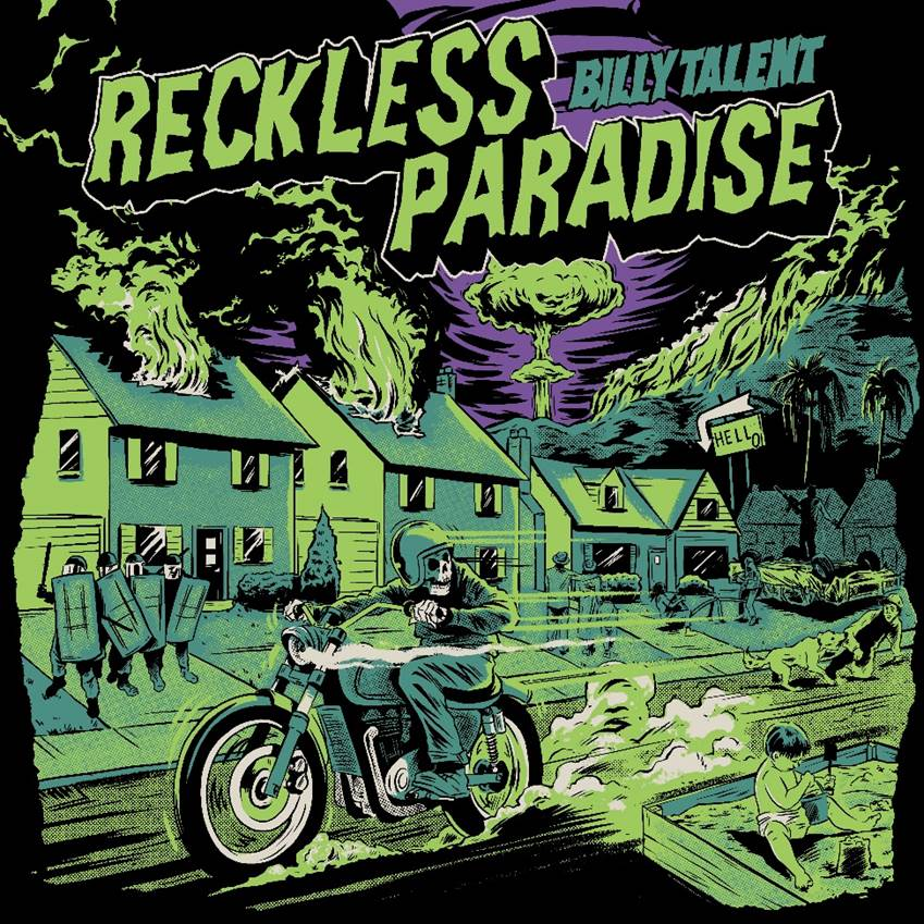 "Billy Talent Deliver ""Reckless Paradise"""