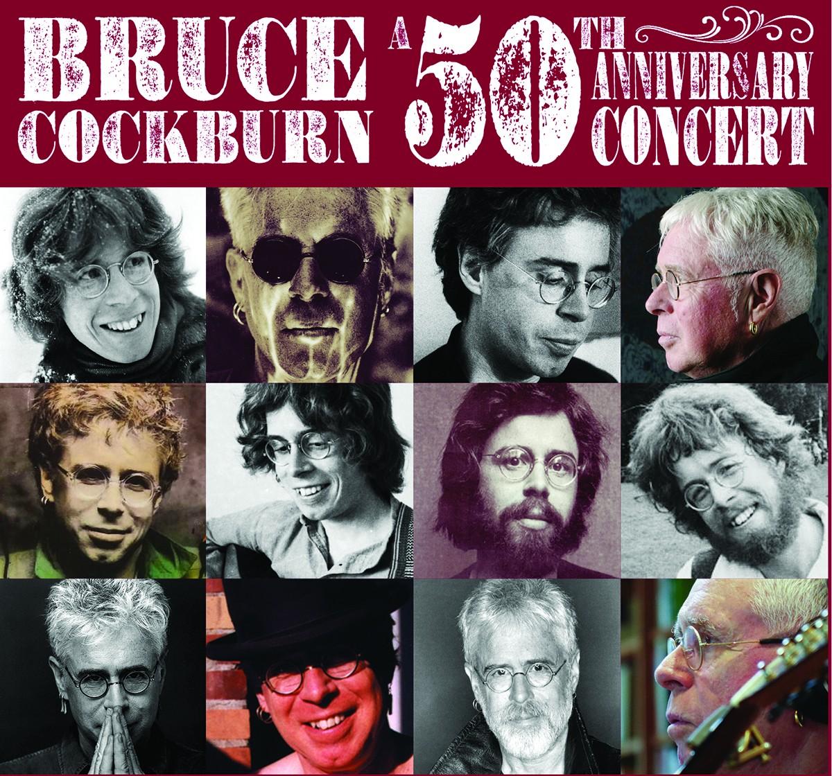 Bruce Cockburn Announces 50th Anniversary Shows
