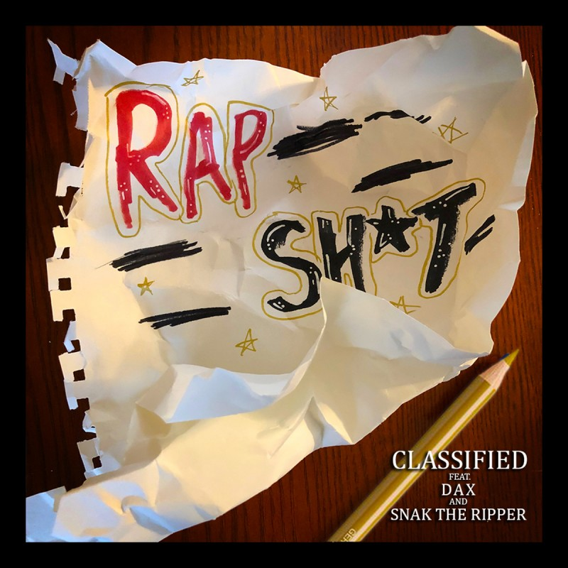 """Classified  Premieres New Track """"Rap Shit"""" Featuring Dax And Snak The Ripper"""
