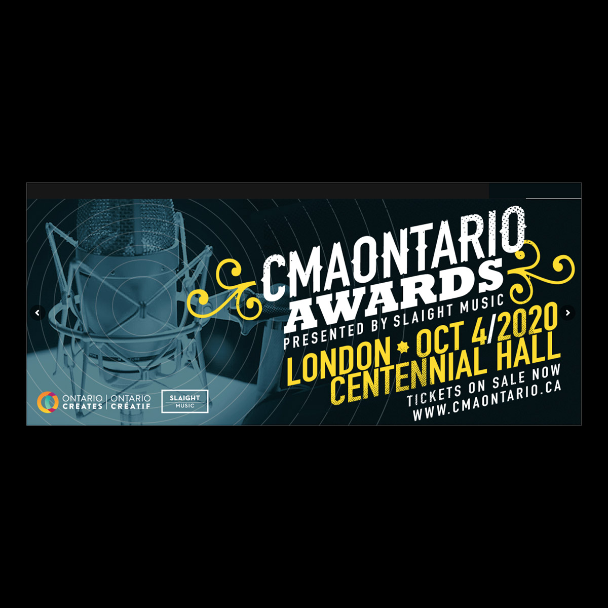 2020 CMAOntario Festival & Awards Rescheduled for October