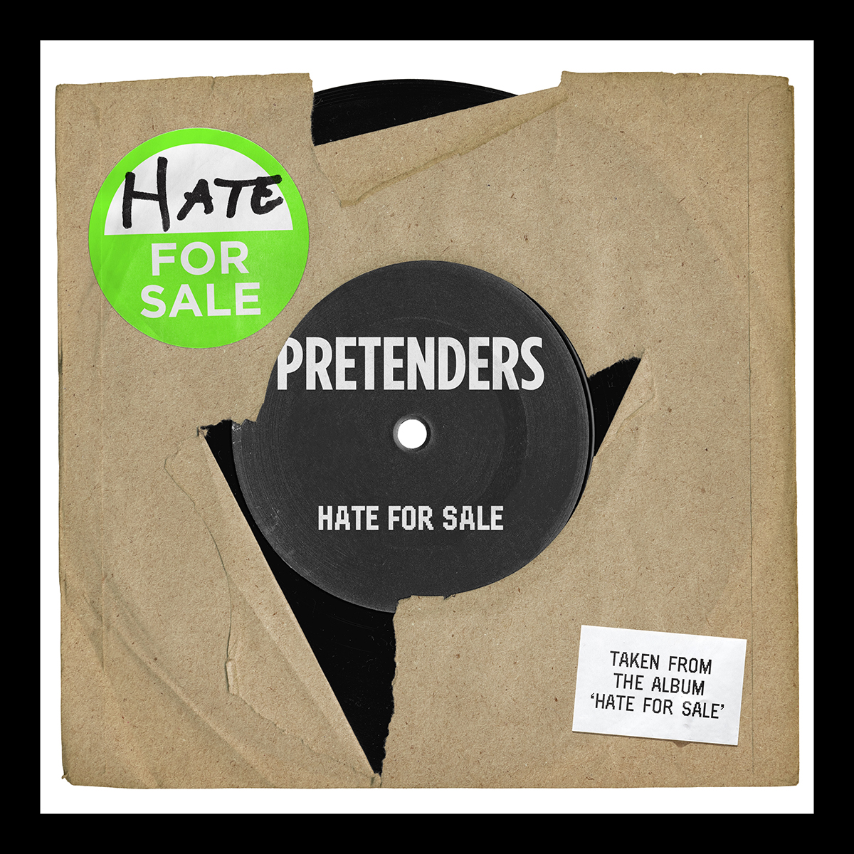 The Pretenders Reveal Brand New SingleHate For Sale